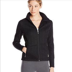 Spyder Womens Fleece Athletic Jacket size medium